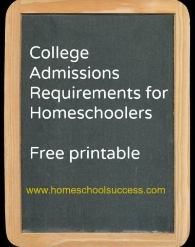 FREE Printable for College Requirements www.homeschoolgiveaways.com USe this guide to plan your child's high school studies!