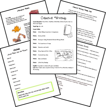 fun lesson plans for creative writing The most fun writing activities we've ever facilitated, great for both adult or kids' writing activities, and can be adapted to a shorter creative writing project.