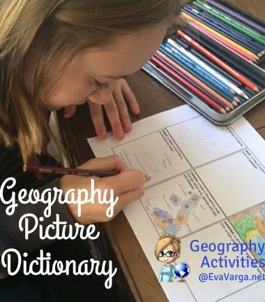 FREE Geography Picture Dictiojnary www.homeschoolgiveaways.com Grab our free geography picture dictionary and have fun learning about geography with your kmiddle school stufents!