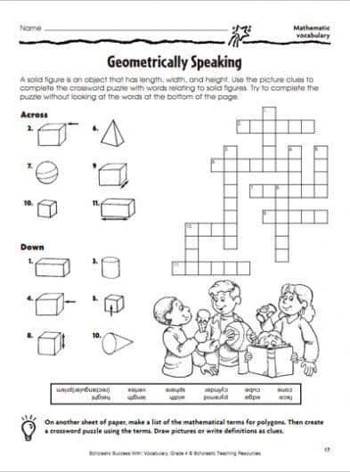 FREE Geometry Worksheet