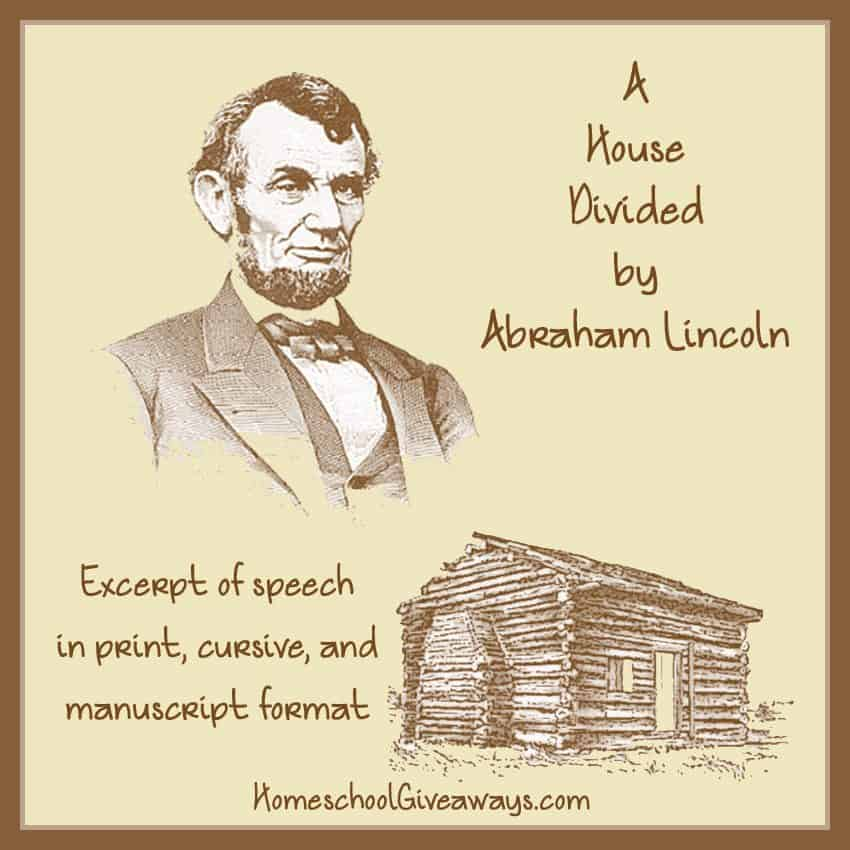 a house divided speech analysis essay House divided speech, 1858 lesson plans and worksheets from thousands of teacher-reviewed resources to help you inspire students learning.