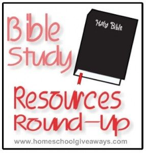 Bible Study Resources Round Up