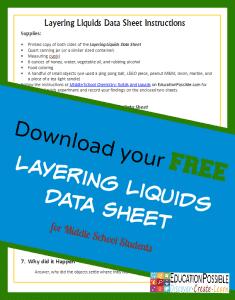 FREE Chemistry Printable www.homeschoolgiveawys.com Download a free chemistry printable worksheet!