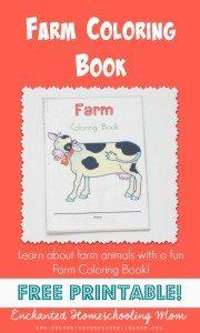 Farm-Coloring-Book