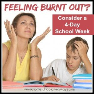 Feeling Burnt Out? Try a 4 Day School Week!