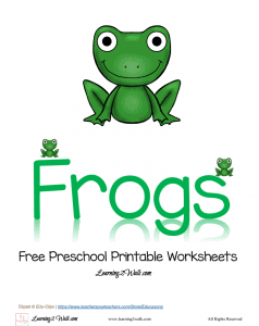 Free-Preschool-Printable-Worksheets-Frogs