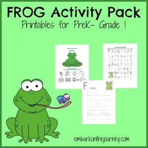Frog-Printable
