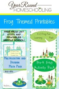 Frog-Themed-Page