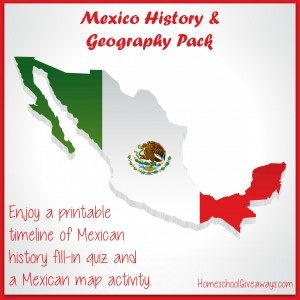 Mexico History and Geography Pack