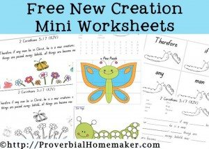 New-Creation-Worksheets