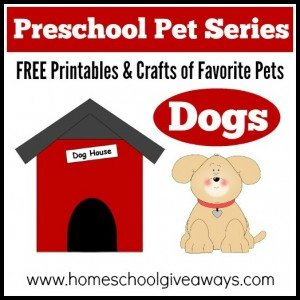 Preschool Pet Series Dogs