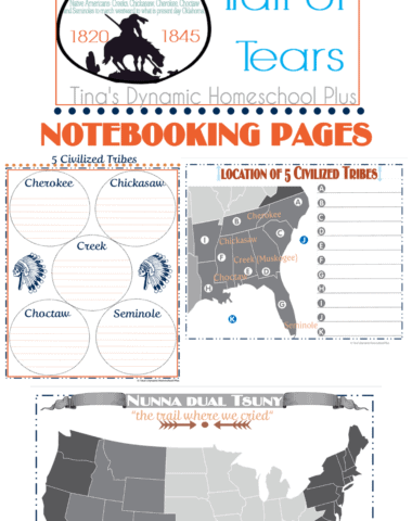 FREE Trail of Tears Unit Study & Lapbook www.homeschoolgiveaways.com Learn about The Trail of Tears with these FREE unit study and lapbook resources!