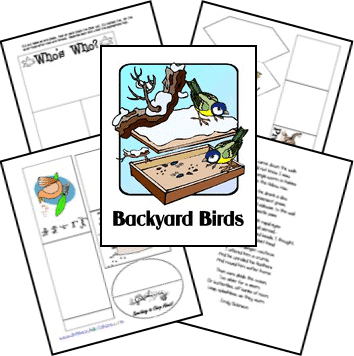 FREE Backyard Birds Lap-n-Note www.homeschoolgiveaways.com Learn about the birds in your backyard!