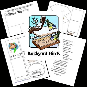 FREE Backyard Birds Lap-n-Note www.homeschoolgiveaways.com Learn about the birds in your backyard!