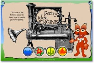 FREE Poetry Idea Generator www.homeschoolgiveaways.com Create many different poems online with free access to this idea generator!