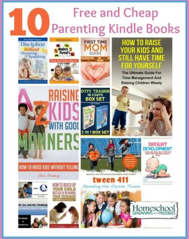10 Parenting Kindle Books
