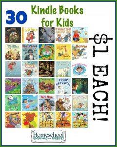 30 Kindle Books for Kids