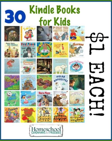 30 Kindle Books for Kids