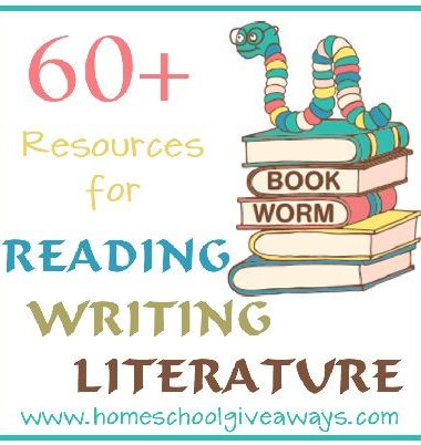 60+ Reading Writing & Literature Resources
