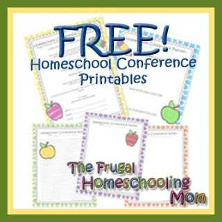 Homeschool Conference Free Printable Planner Checklist Note Taking Sheets copy 4