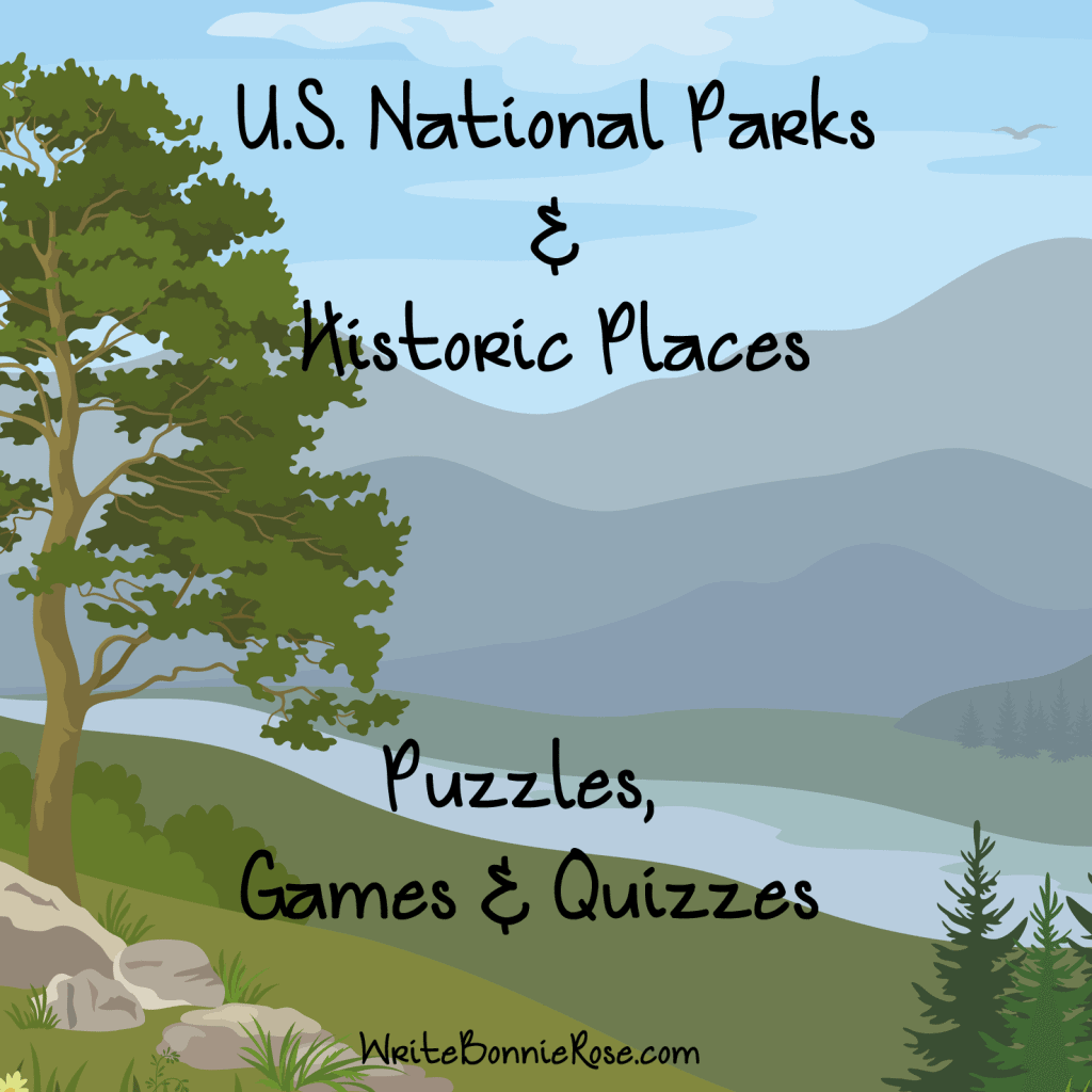 US National Parks Free Puzzle and Quiz Pack - Homeschool Giveaways