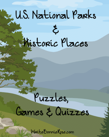 National Park Puzzles, Games and Quizzes