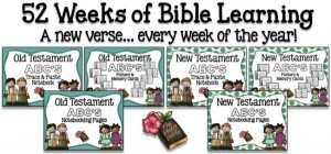 Notebooking Nook 52 Weeks of Bible Learning