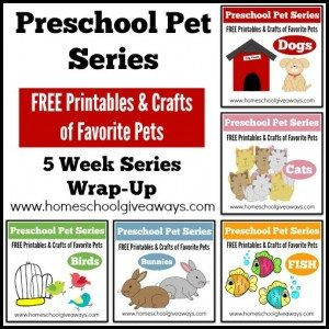 Preschool Pet Series Wrap Up