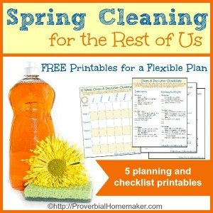 Free printable poem hymn and scripture for each month of What month is spring cleaning