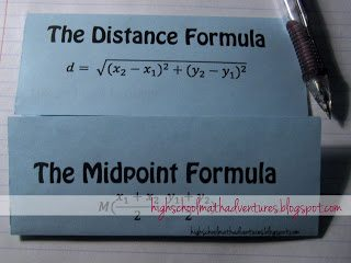 FREE Distance and Midpoint Formulas Worksheet www.homeschoolgiveaways.com Download a free distance and midpoint worksheet here for high school students!