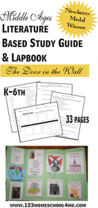 FREE The Door in the Wall Study Guide and Lapbook www.homeschoolgiveaways.com Download these helpful resources to use as you read and study The Door in the Wall!