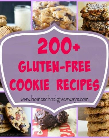 Looking for some sweets that are both delicious and healthy? Check out these Gluten-Free Cookies!! :: www.homeschoolgiveaways.com