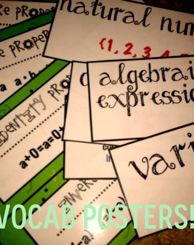 FREE Math Vocabulary Posters www.homeschoolgiveaways.com Learn important math vocabulary with these free math posters!