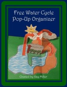 FREE Water Cycle Pop Up www.homeschoolgiveaways.com Get this free activty and help bring the water cycle to life!