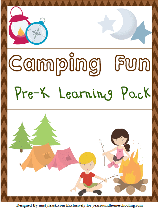 CampingPreKLearningCover