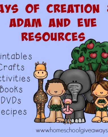 Studying the Creation this year? Check out these great resources to make your unit memorable for the kids!! :: www.homeschoolgiveaways.com