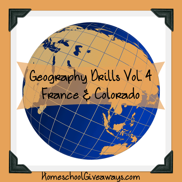 Free Geography Drills Volume 4 - France and Colorado