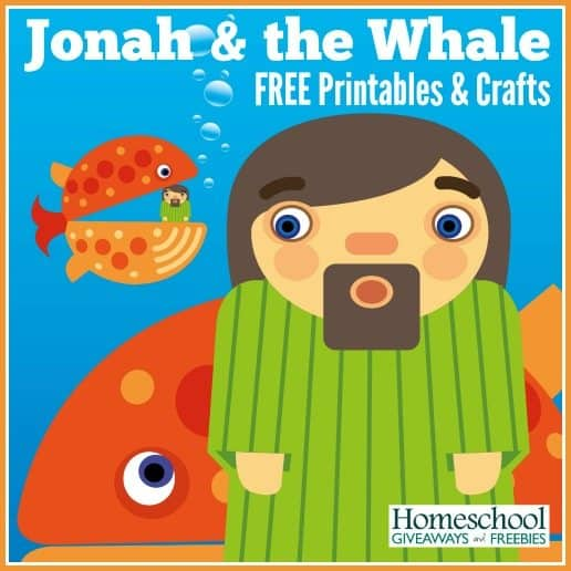 Jonah And The Whale Free Printables And Crafts Homeschool Giveaways