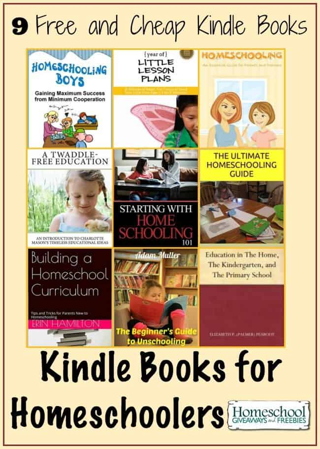 Kindle Books for Homeschoolers