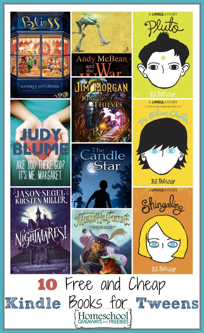 Kindle Books for Tweens