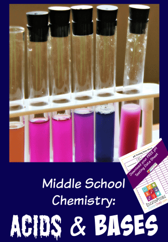 FREE Chemistry Printable www.homeschoolgiveaways.com Don't miss this great acids and bases activity and free printable!