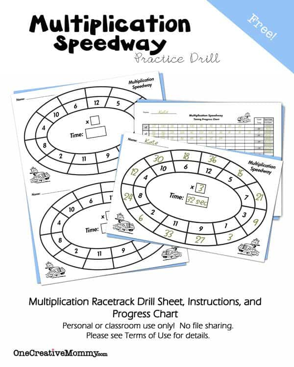 Multiplication-Speedway-Practice-Drill