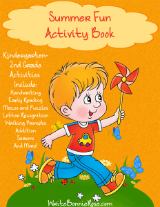 Summer Fun Activity Book