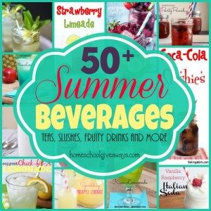 Kick off your summer with some of these DELICIOUS beverages! All non-alcoholic and yummy for adults & kids! :: www.homeschoolgiveaways.com