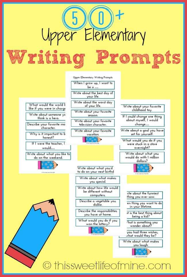 elementary writing prompts Elementary writing curriculum for homeschool or skill-building 8-week, teacher-led writing courses in grammar, sentences, paragraphs, and essays.
