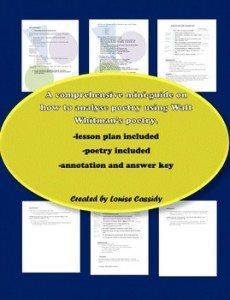 Poetry Analysis Mini Unit for High School Students www.homeschoolgiveaways.com FREE poetry Analysis mini unit!