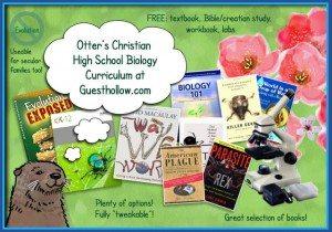 FREE Christian Biology Curriculum www.homeschoolgiveaways.com Teach your homeschool high school children with this free christian biology curriculum!
