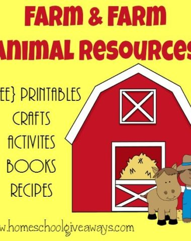 Kids enjoy learning about farming and farm animals. Check out this HUGE List of resources to make your unit AWESOME! :: www.homeschoolgiveaways.com
