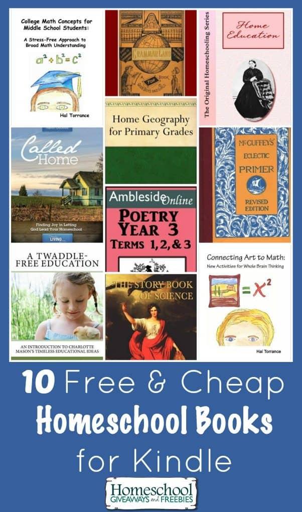 homeschool books for kindle