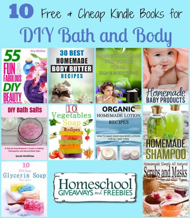 DIY Bath and Beauty Kindle